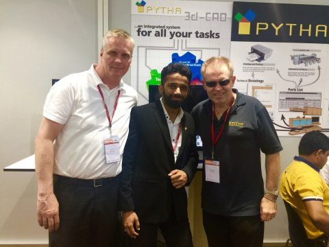 The PYTHA Team at India Wood 2016